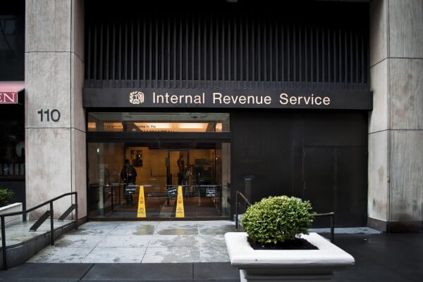 building where IRS regulations and rates are made